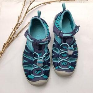 Keen Shoes - Keen Little Kids Moxie Dress Blue/Viridian